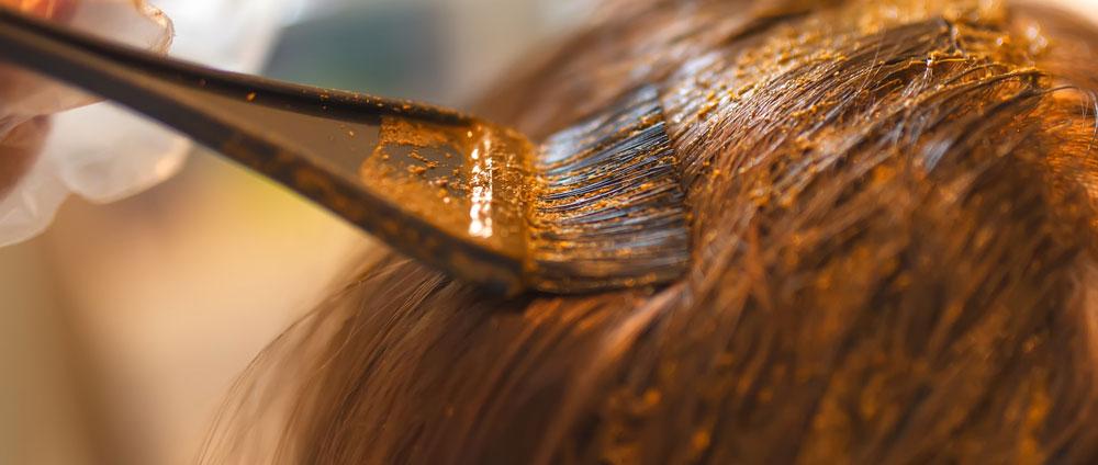 henna-hårfärg
