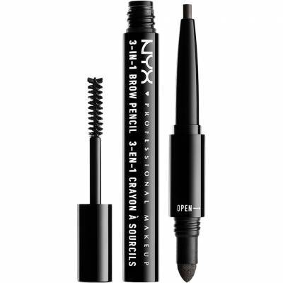 3-In-1 Brow Pencil - Black
