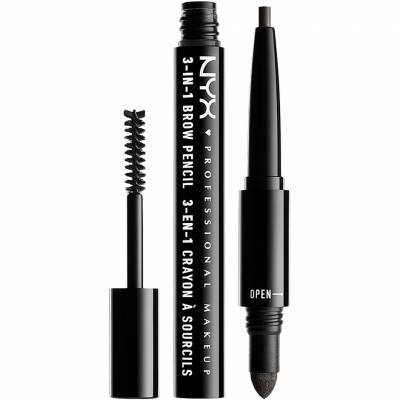 3-In-1 Brow Pencil - Charcoal