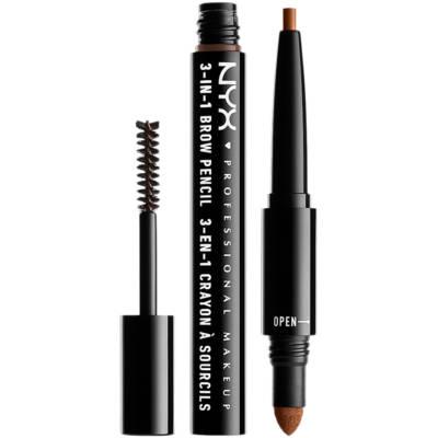 3-In-1 Brow Pencil, NYX Professional Makeup Ögonbryn
