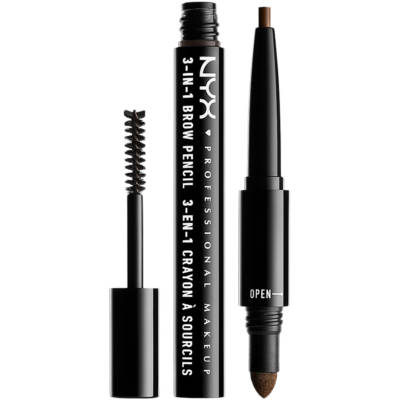 3-In-1 Brow Pencil, NYX Professional Makeup Ögonbryn