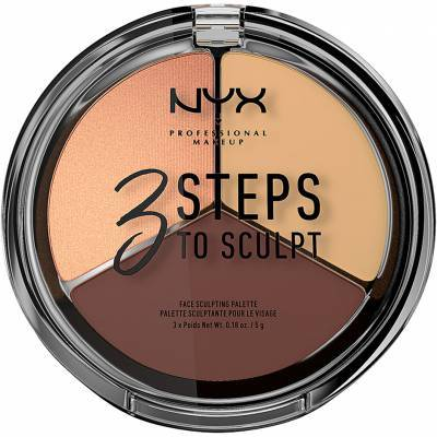 3 Steps to Sculpt, NYX Professional Makeup Contouring