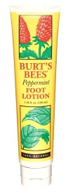 Burt's Bees Peppermint Foot Lotion, 100 ml