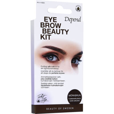 Eyebrow Beauty Kit, Depend Ögonbryn