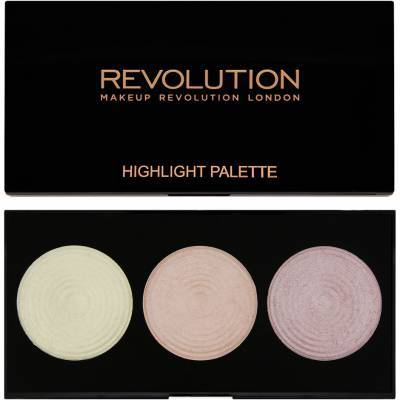Highlighter Palette, Makeup Revolution Highlighter
