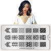 Stamping Nail Art Plates, MoYou Tillbehör