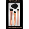 Ultra Sculpt & Blend Collection, Makeup Revolution Borstar & Penslar