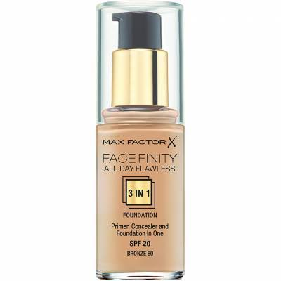 Facefinity All Day Flawless Foundation - 80 Bronze