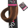 PoZe Äkta Clip N Go Set Extensions #4B/9G Chocco Cola 9