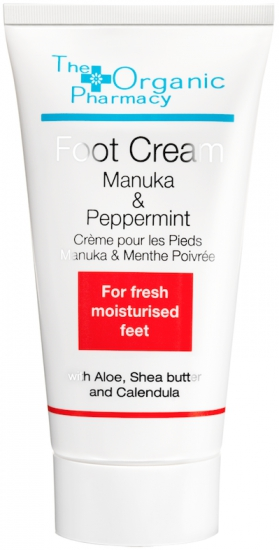 THE ORGANIC PHARMACY MANUKA & PEPPERMINT FOOT CREAM