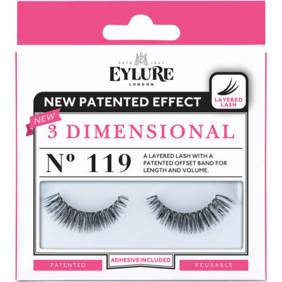 3-D Lashes - N°119