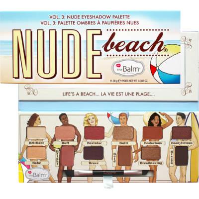 Nude Eyeshadow Palette - Nude Beach
