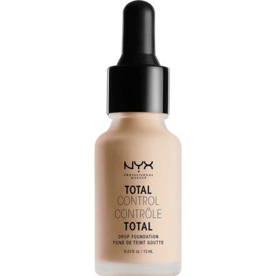 Total Control Drop Foundation, 06 Vanilla 13 ml NYX Professional Makeup Foundation