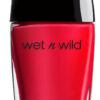 Wet N Wild Wild Shine Nail Color Red Red