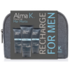 Alma K Dead Sea Minerals Recharge Travel Kit for Men